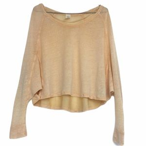 NWOT We The Free Off The Shoulder Top XS